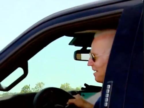 Biden test drive